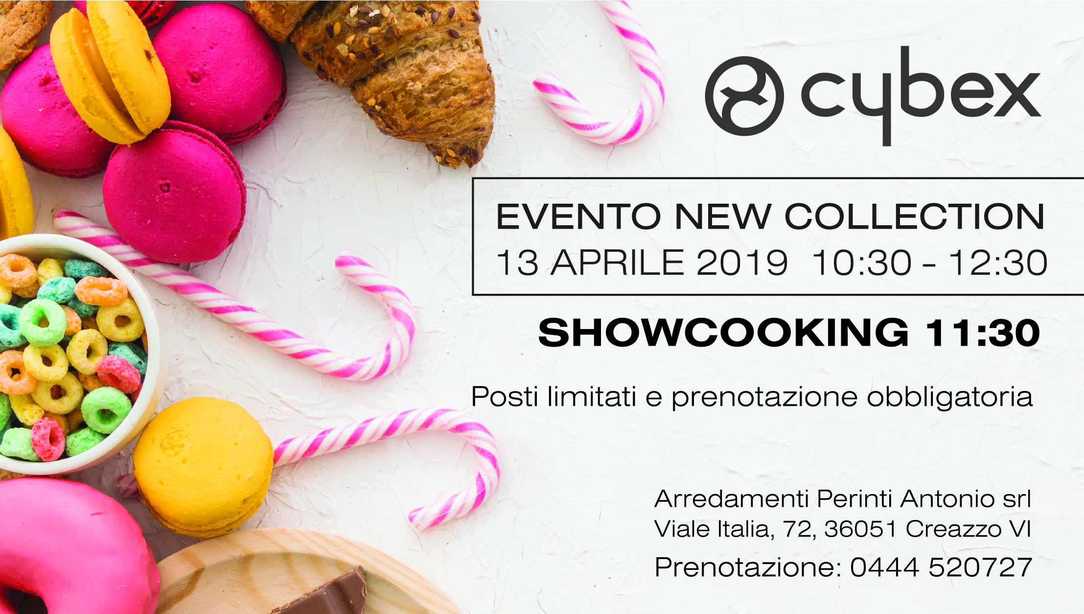 SHOWCOOKING E CYBEX NEW COLLECTION